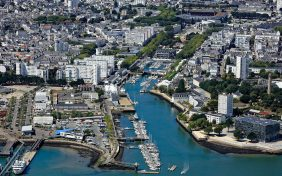 Morbihan (56): Le port de Lorient